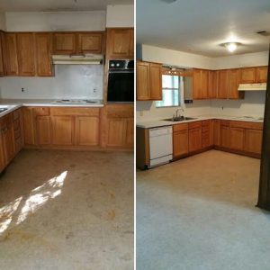 Before Amp After Pictures Maids And Moore Residential