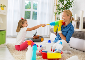 child safe cleaning